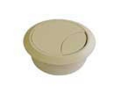 PASSE-CABLE (2 PART.)60MM BEIGE