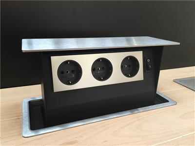 S-BOX POWER INOX NL-D-L (3 PRISES)